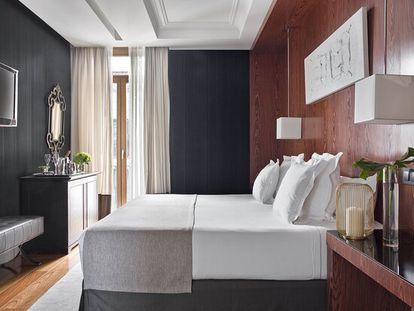 Grand Suite del Hotel Único Madrid.