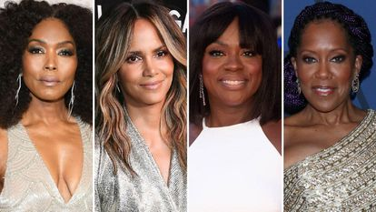 De izquierda a derecha, las actrices Angela Bassett, Halle Berry, Viola Davis y Regina King.