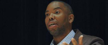 El autor estadounidense Ta-Nehisi Coates.