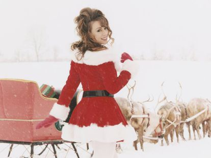 Mariah Carey en 'All I Want for Christmas Is You'.