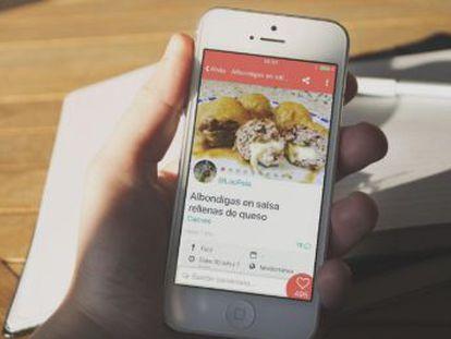 Las comunidades de usuarios que comparten recetas predominan entre las propuestas que enseñan a elaborar platos desde el móvil