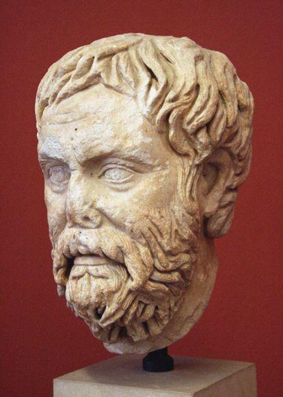 Pirrón de Elis, un hombre que creía que el conocimiento es cuestión de perspectiva.