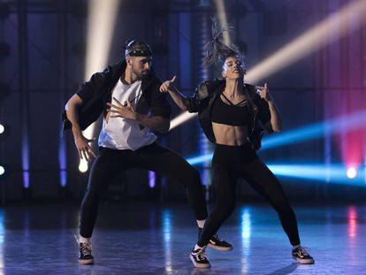 Una de las coreografías en 'Fama a bailar'.