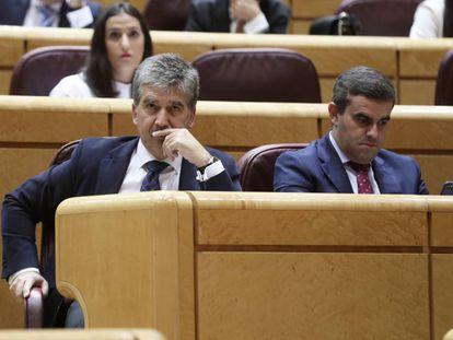El portavoz de los populares en el Senado, Ignacio Cosidó.