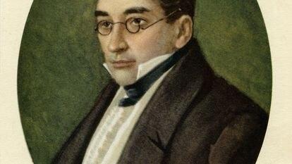 El dramaturgo y compositor Alexander Griboedov.