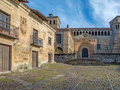 Colegiata de Santa Juliana, en Santillana del Mar (Cantabria).