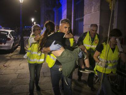 Andreu asegura que el dispositivo policial a las puertas de la Cámara catalana fue suficiente