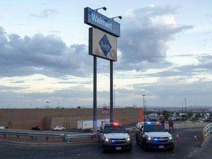 Imagen del Walmart donde se produjo el tiroteo de agosto en El Paso (Texas).