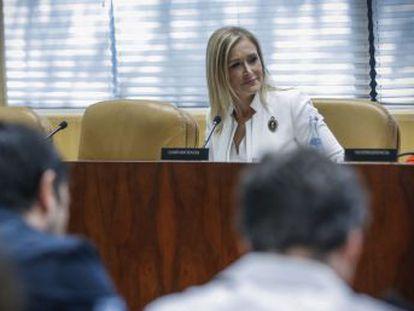 La presidenta regional niega haber influido en nada en la adjudicación del restaurante