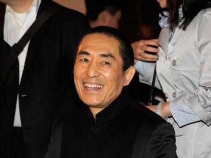 El director de cine chino Zhang Yimou, en una imagen de abril de 2013.