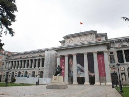 El museo del Prado tenía previsto inaugurar la muestra 'Invitadas' este lunes 30 de marzo.