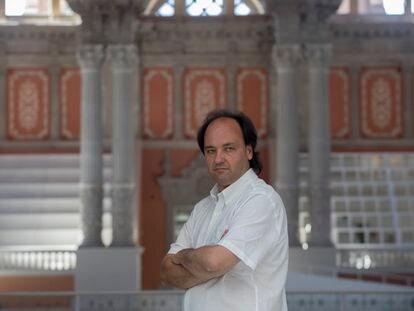 Pepe Serra, director del MNAC, en la sala de su museo, en una fotografía de archivo.
