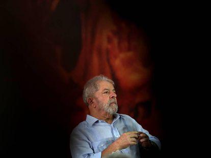 Lula, este jueves en São Paulo.