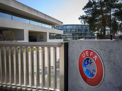 La sede de la UEFA en Nyon.