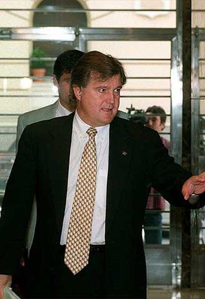 Gerardo González Movilla, presidente de la Asociación de Futbolistas Españoles (AFE).