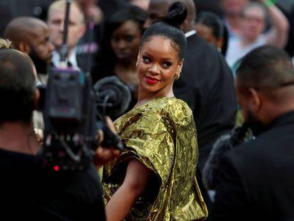 La cantante Rihanna, en Londres, el pasado junio.