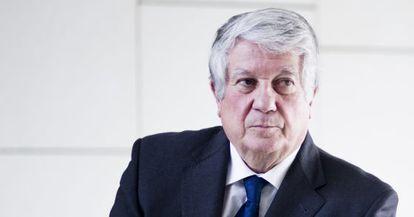 Arturo Fernández, el viernes en la Cámara de Comercio.