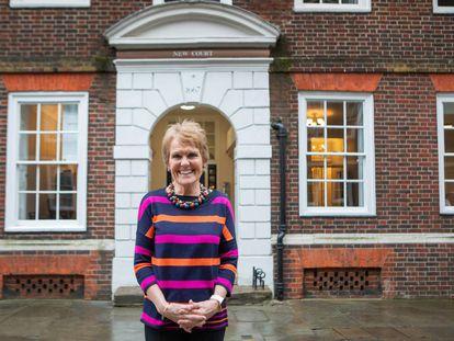 La científica Gina Rippon, el jueves, en Temple Court, Londres.carmen valiño