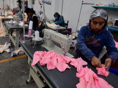 Una fábrica de peluches en el Estado de México.