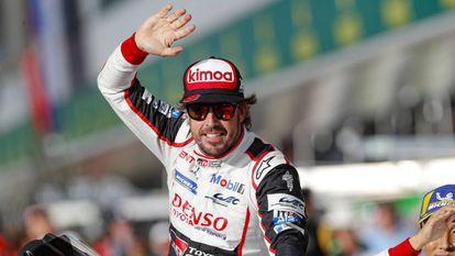 Fernando Alonso, en las 6 Horas de Silverstone.