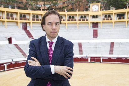 Felipe Negret, empresario de la plaza de toros de Bogotá.