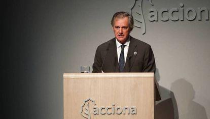 José Manuel Entrecanales, presidente de Acciona.