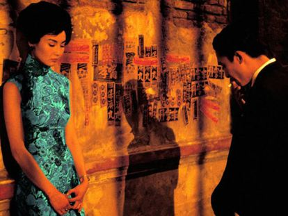 Fotograma de la película 'Deseando amar' de Wong Kar-wai.