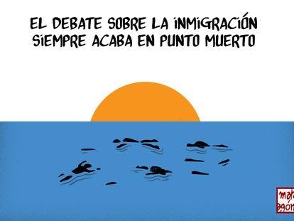 La crisis migratoria en Ceuta, por Malagón