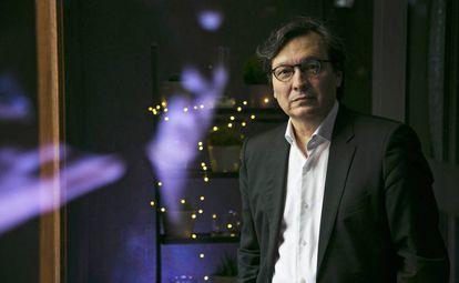 El historiador Eduardo Manzano Moreno, el 24 de enero en Madrid.