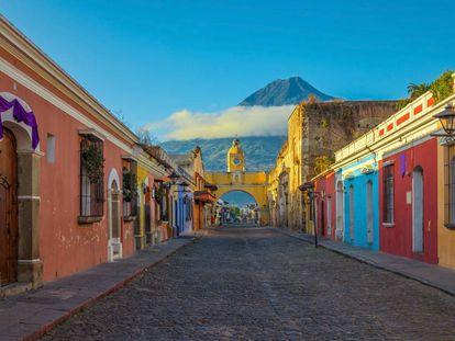 La ciudad de Antigua Guatemala.