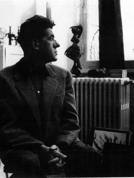 Óscar Domínguez, pintor surreralista canario, en una imagen sin fecha.