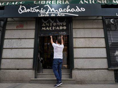 La librería Antonio Machado de Madrid.