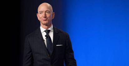 Jeff Bezos, fundador de Amazon y Blue Origin.