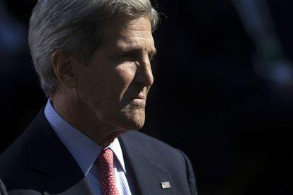 John Kerry en la Casa Blanca en octubre.
