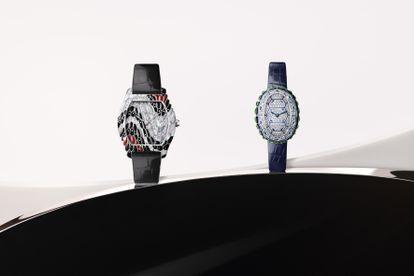 Los nuevos modelos Tortue y Bagnoire de Cartier presentados en 2021.
