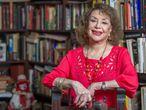 Delia Fiallo en su residencia de Miami, el jueves, 11 de enero.