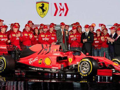 El Ferrari SF90 de la próxima temporada.