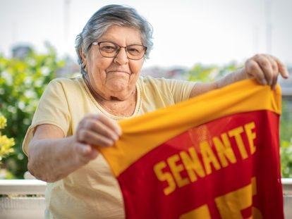 DVD 1057 Madrid 8/06/2021Entrevista a Pepa Senante, ex jugadora de baloncestoFoto: Inma Flores