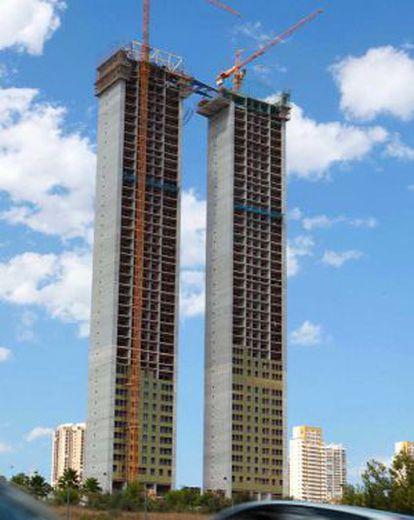 Obras del rascacielos InTempo.