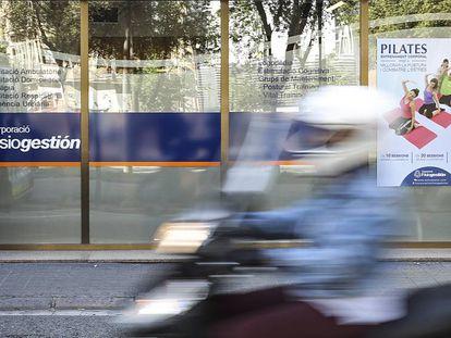 Una de las sedes de Corporació Fisiogestión, en la Diagonal de Barcelona.