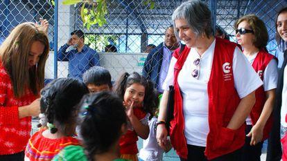 Cristina Aldama es coordinadora general de la AECID en El Salvador.
