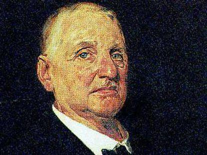 El compositor Anton Bruckner (Ansfelden, 1824-Viena, 1896).
