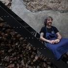 Dvd1008(30/06/20) Reportage a Diego Guerrero  cocinero de Dstage en su local preprarndo todo para la reapertura después de  el parón por el confinamiento , Calle Regueros 8 , Madrid Foto: Víctor Sainz