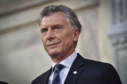 El expresidente argentino Mauricio Macri, en una imagen de archivo.