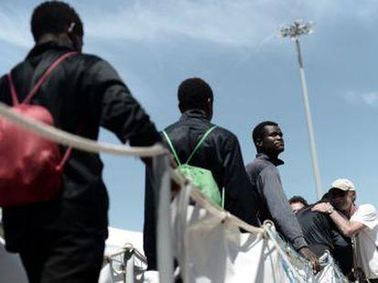 La institución plantea crear una  plataforma de desembarcos  para las llegadas irregulares