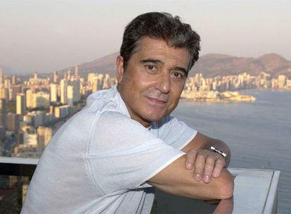 Andrés Pajares, en Benidorm, en una imagen de 2003.