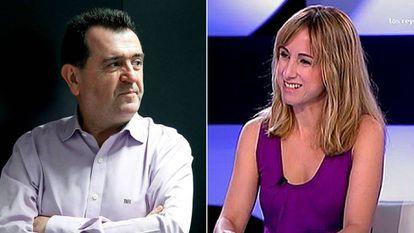 Arsenio Escolar (izquierda) y Ana Pardo de Vera (derecha).