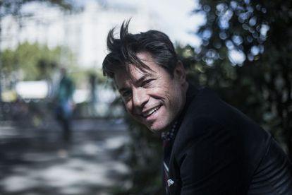 El escritor J. R. Moehringer, en Barcelona el pasado septiembre.