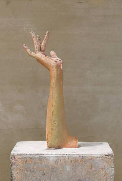 Lesbo, escultura escaneada de Irene Gaumé.