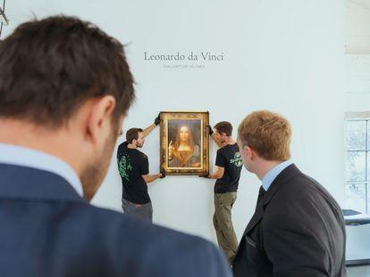 Imagen del documental 'Da Vinci a subasta: la historia del 'Salvator Mundi'